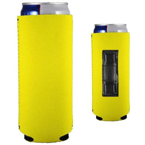Neoprene Magnetic Slim Can Coolie (Multi-Color Print)