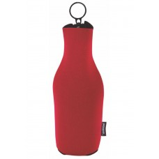 Kooie® Neoprene Zip-Up Bottle Kooler (1 Color Print)