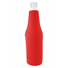 Neoprene Beer Zipper Bottle Coolie (Small Order)