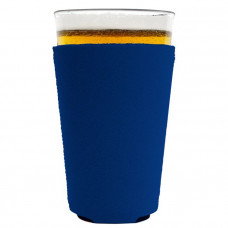 Neoprene Collapsible Pint Glass Coolie (Small Order)